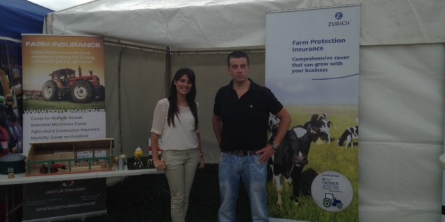 Doyle Mahon Insurances are at the Killag Show – Drop In and Enter Our Free Draw
