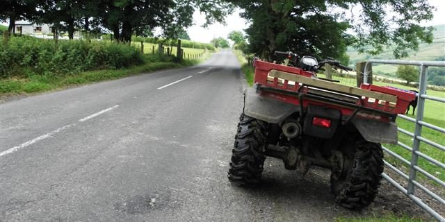 Do you know the rules around driving a quad on the road?