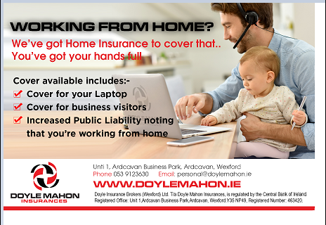 Working from Home? We've got insurance to cover that