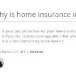 why is home insurance important